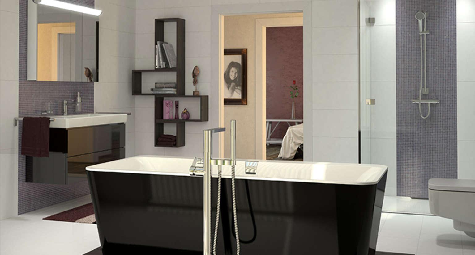 Miroir salle de bain lumiere integree for Lumiere salle de bain